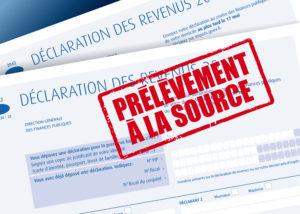 Prélévement à la source des impôts